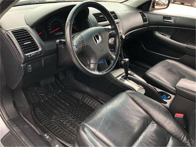 2004 Honda Accord EX-L-LEATHER-ROOF-CERTIFIED-CLEAN!!! (Stk: 212510B) in Markham - Image 10 of 20