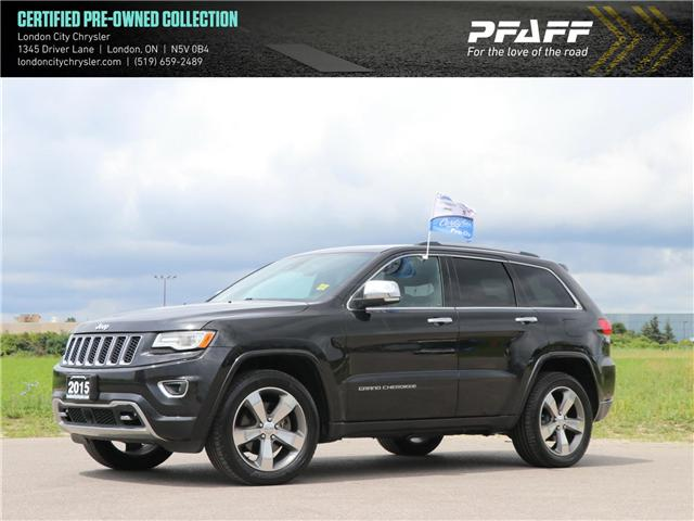 2015 Jeep Grand Cherokee Overland (Stk: 8681A) in London - Image 1 of 27