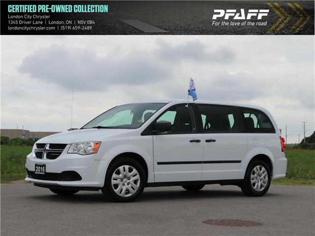 2016 Dodge Grand Caravan SE/SXT (Stk: 8571B) in London - Image 1 of 22