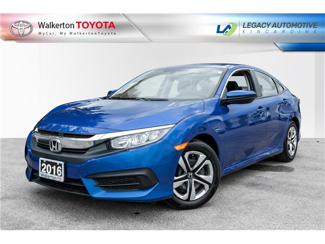 2016 Honda Civic LX (Stk: 18398B) in Walkerton - Image 1 of 20