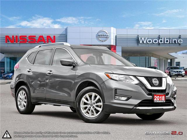 2018 Nissan Rogue SV (Stk: P7063) in Etobicoke - Image 1 of 27