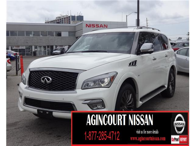 2017 Infiniti QX80 Limited 7 Passenger (Stk: U12237) in Scarborough - Image 1 of 29