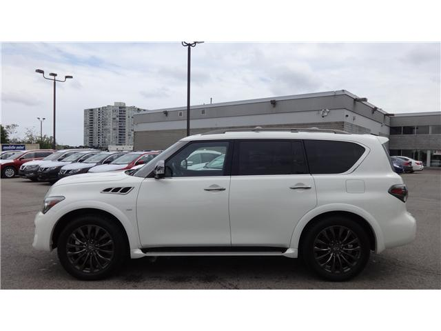 2017 Infiniti QX80 Limited 7 Passenger (Stk: U12237) in Scarborough - Image 2 of 29