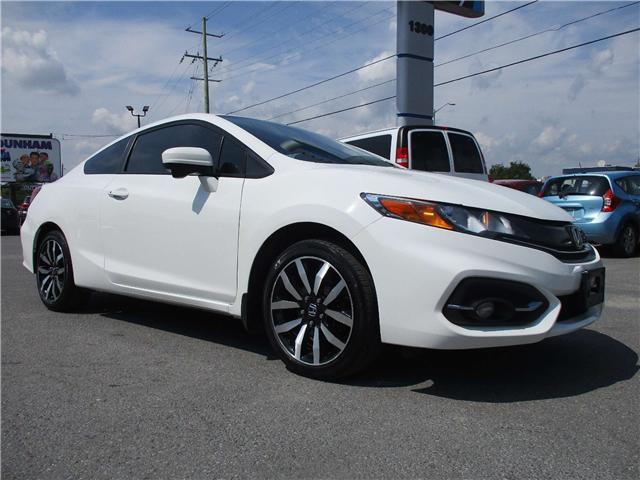 2014 Honda Civic EX-L Navi (Stk: 180936) in Kingston - Image 1 of 12