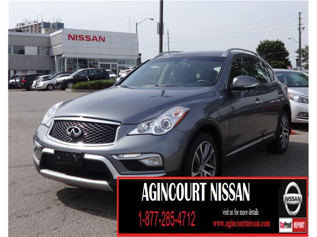 2017 Infiniti QX50  (Stk: U12242) in Scarborough - Image 1 of 25