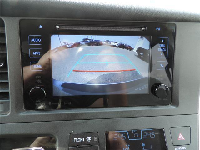 2017 Toyota Sienna LE 8 Passenger (Stk: 184231) in Brandon - Image 19 of 25