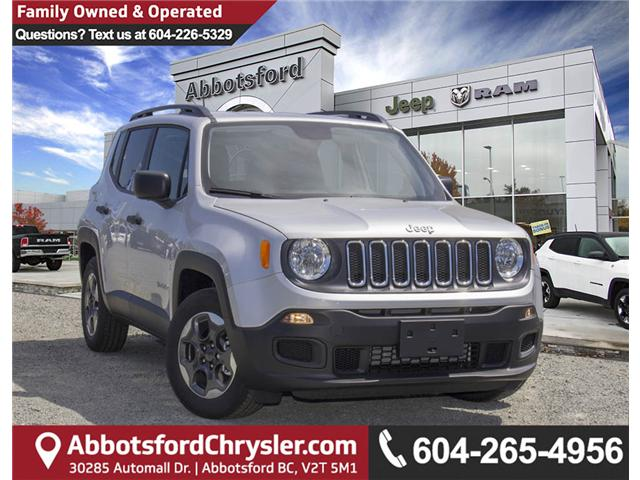 2018 Jeep Renegade Sport (Stk: JH69342) in Abbotsford - Image 1 of 25