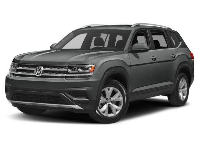 2018 Volkswagen Atlas 3.6 FSI Execline (Stk: JA573303) in Surrey - Image 1 of 8