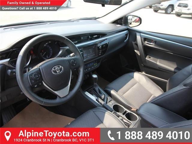 2016 Toyota Corolla S (Stk: W578512B) in Cranbrook - Image 8 of 17