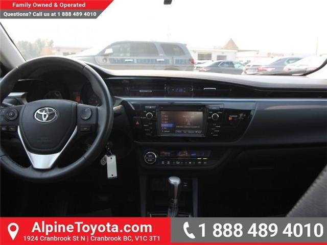 2016 Toyota Corolla S (Stk: W578512B) in Cranbrook - Image 9 of 17