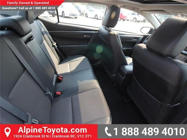 2016 Toyota Corolla S (Stk: W578512B) in Cranbrook - Image 11 of 17