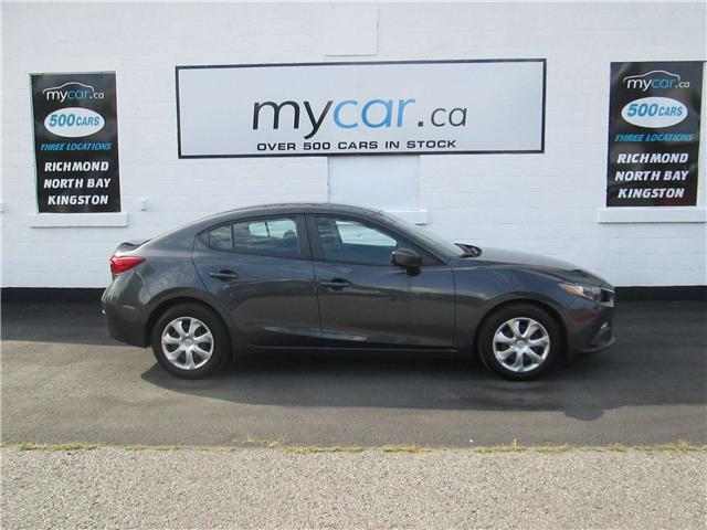 2015 Mazda Mazda3 GX (Stk: 181015) in Richmond - Image 1 of 13
