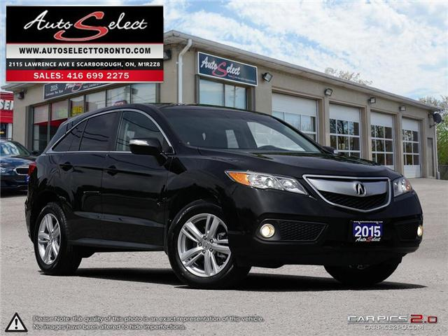 2015 Acura RDX AWD (Stk: 15AC95Q1) in Scarborough - Image 1 of 26
