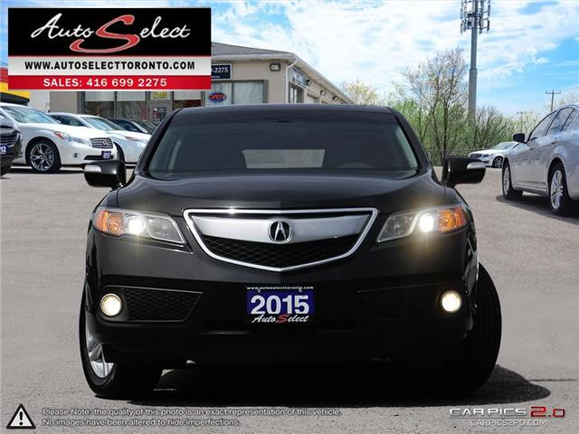 2015 Acura RDX AWD (Stk: 15AC95Q1) in Scarborough - Image 2 of 26