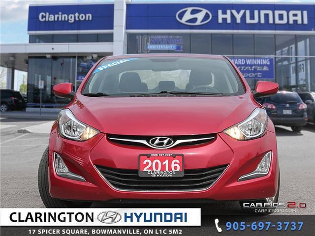 2016 Hyundai Elantra Sport Appearance (Stk: U728) in Clarington - Image 2 of 27