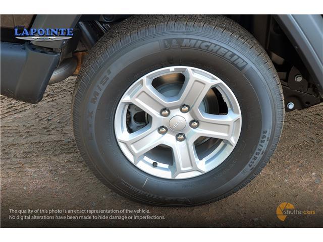2018 Jeep Wrangler Unlimited Sport (Stk: 18273) in Pembroke - Image 5 of 20