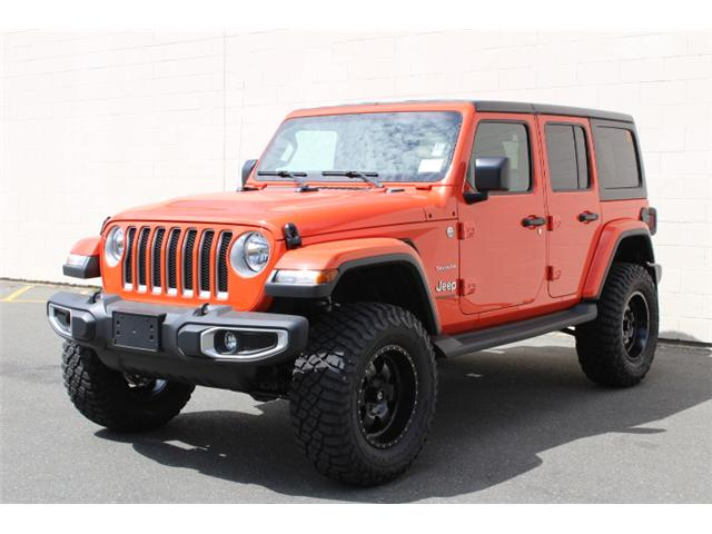 2018 Jeep Wrangler Unlimited Sahara (Stk: W192615) in Courtenay - Image 2 of 30