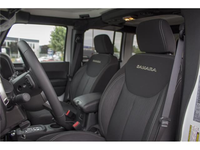 2018 Jeep Wrangler JK Unlimited Sahara (Stk: J810233) in Surrey - Image 13 of 30