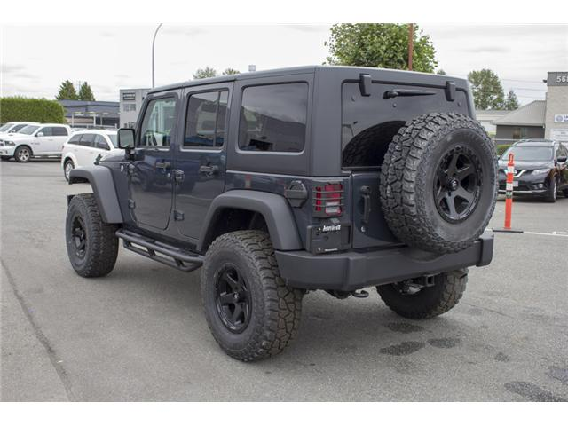 2018 Jeep Wrangler JK Unlimited Sport (Stk: J810302) in Surrey - Image 6 of 28