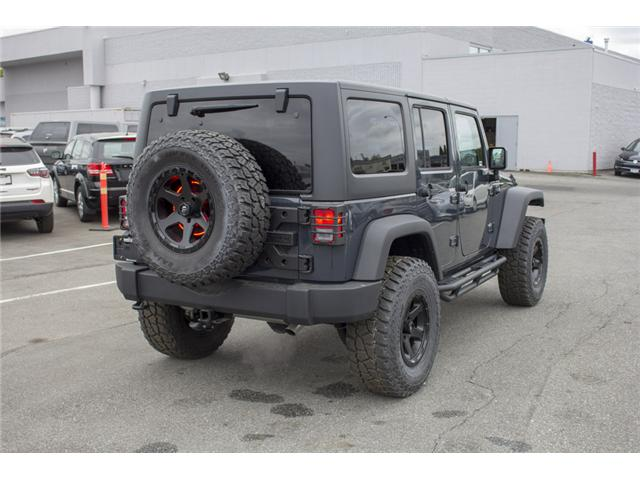 2018 Jeep Wrangler JK Unlimited Sport (Stk: J810302) in Surrey - Image 8 of 28