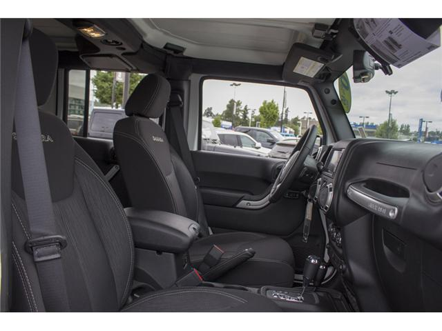 2018 Jeep Wrangler JK Unlimited Sahara (Stk: J810233) in Surrey - Image 20 of 30