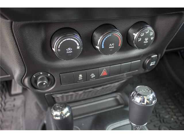 2018 Jeep Wrangler JK Unlimited Sport (Stk: J810302) in Surrey - Image 26 of 28