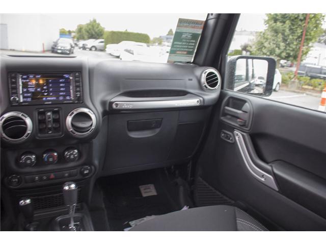 2018 Jeep Wrangler JK Unlimited Sahara (Stk: J864081) in Surrey - Image 14 of 24