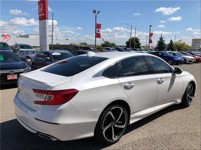 2018 Honda Accord Sport (Stk: J9158A) in Georgetown - Image 2 of 10