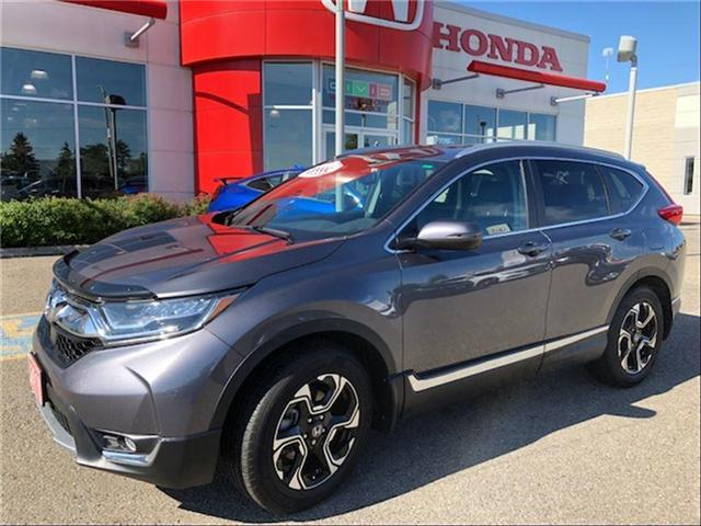 2018 Honda CR-V Touring (Stk: J9182A) in Georgetown - Image 1 of 10