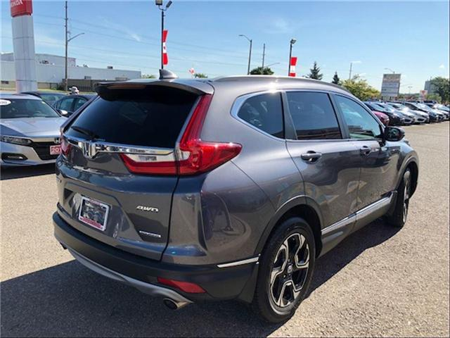 2018 Honda CR-V Touring (Stk: J9182A) in Georgetown - Image 2 of 10