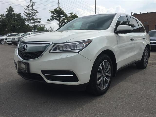 2016 Acura MDX Technology Package (Stk: 502864T) in Brampton - Image 1 of 4