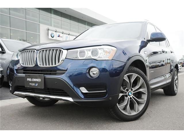 2017 BMW X3 xDrive28i (Stk: PW79250) in Brampton - Image 1 of 14