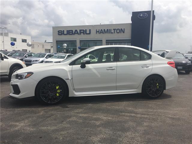 2018 Subaru WRX STI Sport-tech w/Wing (Stk: S7110A) in Hamilton - Image 1 of 37