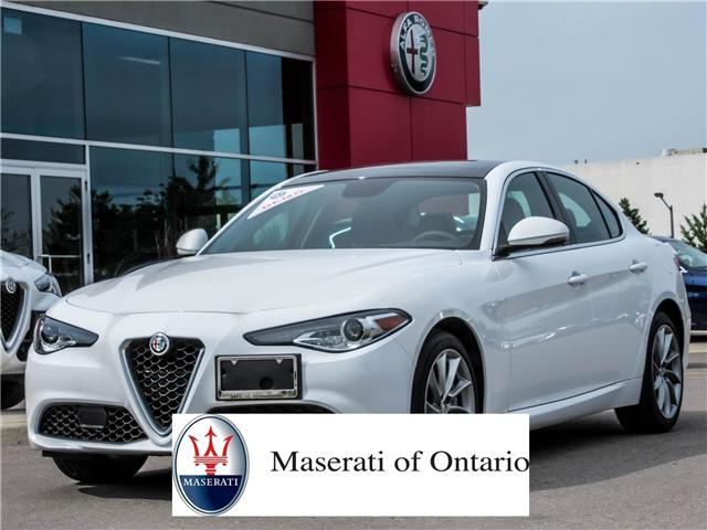 2017 Alfa Romeo Giulia Base (Stk: ALFA255) in Vaughan - Image 1 of 23