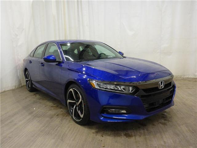2018 Honda Accord Sport (Stk: 1844038) in Calgary - Image 1 of 26