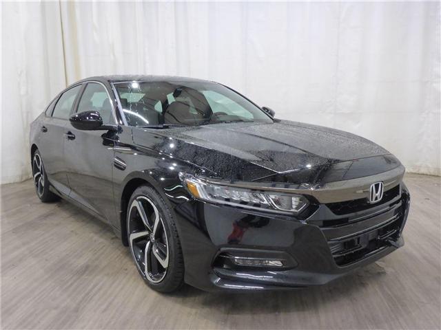 2018 Honda Accord Sport (Stk: 1844040) in Calgary - Image 1 of 19
