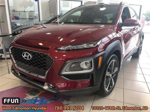 2018 Hyundai Kona 1.6T Ultimate (Stk: KN80245) in Edmonton - Image 1 of 1