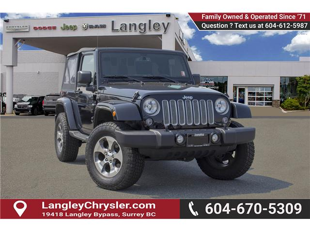 2016 Jeep Wrangler Sahara (Stk: EE890870A) in Surrey - Image 1 of 22