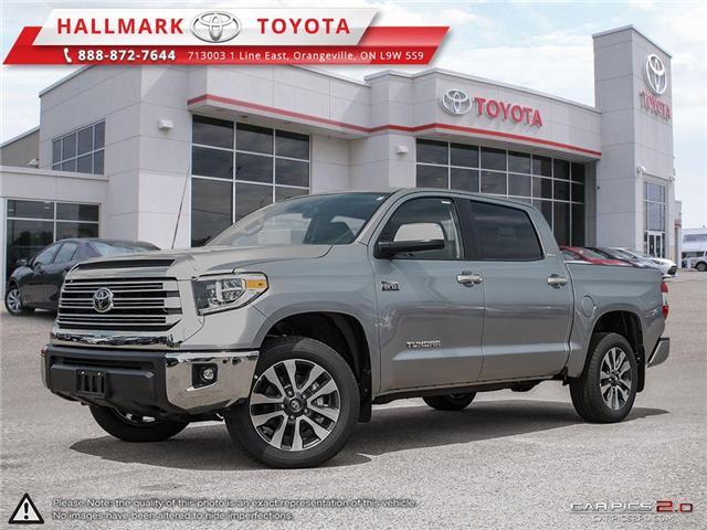 2018 Toyota Tundra 4x4 CrewMax Ltd 5.7 6A (Stk: H18551) in Orangeville - Image 1 of 27