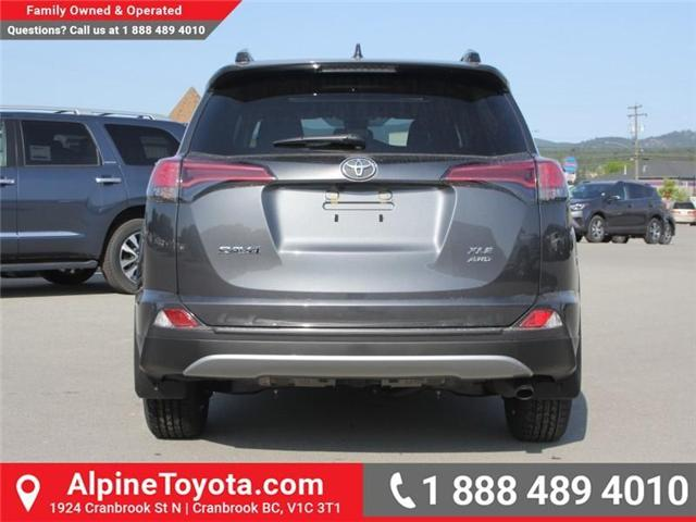 2018 Toyota RAV4 XLE (Stk: W796844) in Cranbrook - Image 3 of 17