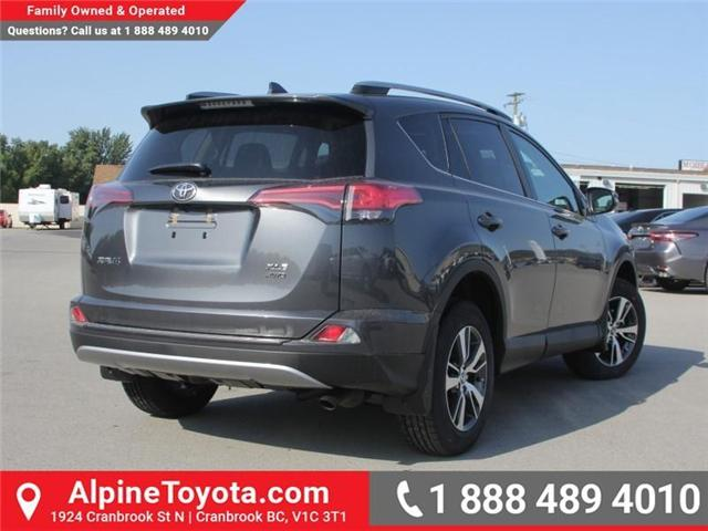 2018 Toyota RAV4 XLE (Stk: W796844) in Cranbrook - Image 4 of 17