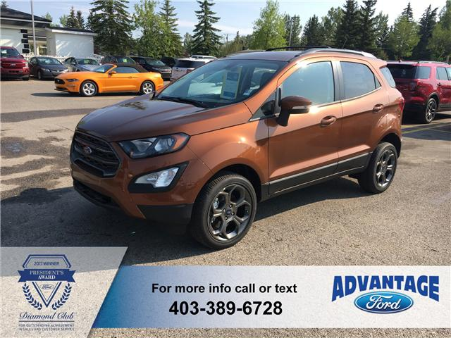2018 Ford EcoSport SES (Stk: J-974) in Calgary - Image 1 of 5