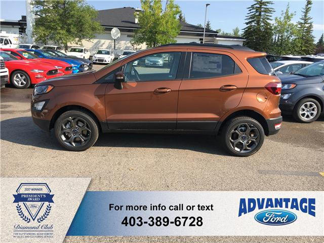 2018 Ford EcoSport SES (Stk: J-974) in Calgary - Image 2 of 5