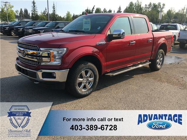 2018 Ford F-150 Lariat (Stk: J-1293) in Calgary - Image 1 of 5