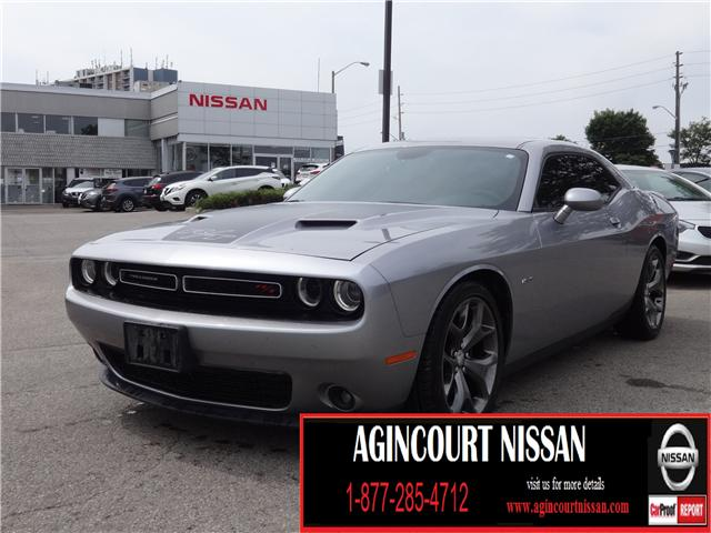 2015 Dodge Challenger SXT Plus or R/T (Stk: U11855B) in Scarborough - Image 1 of 32
