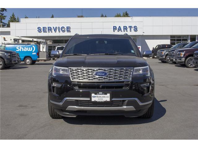 2018 Ford Explorer Platinum (Stk: 8EX0175) in Surrey - Image 1 of 26