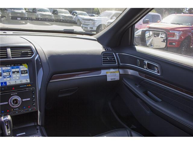 2018 Ford Explorer Platinum (Stk: 8EX0175) in Surrey - Image 13 of 26
