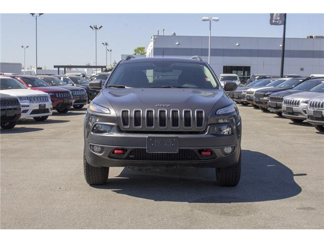 2017 Jeep Cherokee Trailhawk (Stk: EE895720) in Surrey - Image 2 of 26