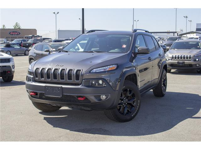 2017 Jeep Cherokee Trailhawk (Stk: EE895720) in Surrey - Image 3 of 26