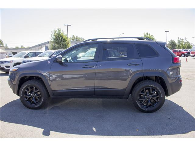 2017 Jeep Cherokee Trailhawk (Stk: EE895720) in Surrey - Image 4 of 26